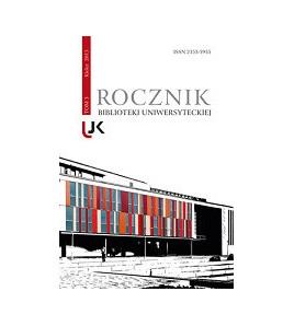 Rocznik Biblioteki Uniwersyteckiej, t. 3