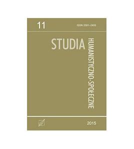 Studia Humanistyczno-Społeczne, t. 11