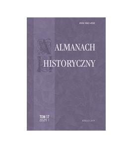 Almanach Historyczny, t.17, z.1