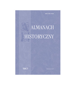 """Almanach Historyczny"", t. 21"