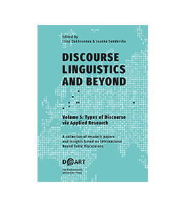 Discourse Linguistics and Beyond, vol. 5, Types of Discourse via Applied Research