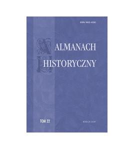 """Almanach Historyczny"", t. 22"