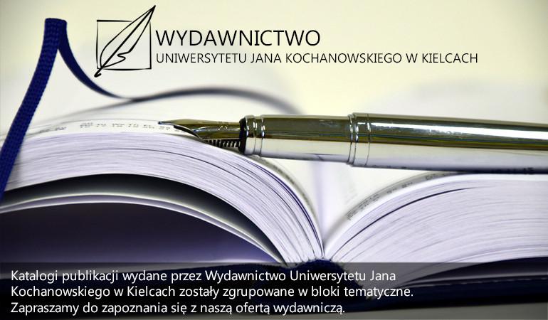 Katalogi publikacji Wydawnictwa UJK